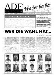 zur Wahl - ADF - Arbeitsgemeinschaft Demokratischer ...