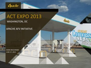 ACT EXPO 2013