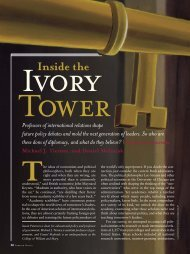Inside the Ivory Tower - Michael J. Tierney - College of William and ...