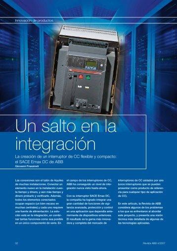 Un salto en la integración - Contact ABB