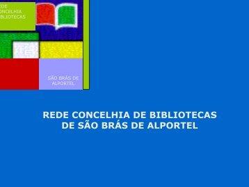 rede concelhia de bibliotecas de são brás de alportel - RBE