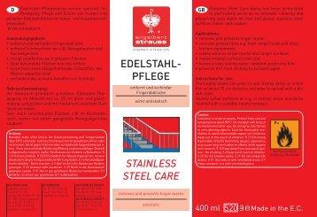 Edelstahl-Pflegespray (D) - Engelbert Strauss