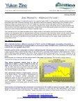 Zinc Market Update - Yukon Zinc Corporation - Page 2