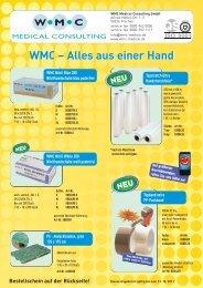 WMC – Alles aus einer Hand - WMC Medical Consulting GmbH