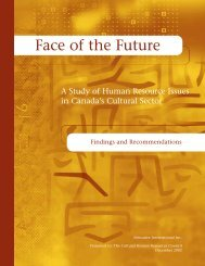 Findings and Recommendations - Conseil des ressources ...