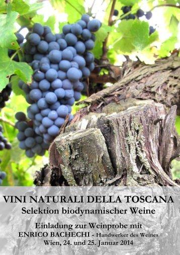 Biodynamische Wein aus der Toskana in Wien - Fattoria Castellina