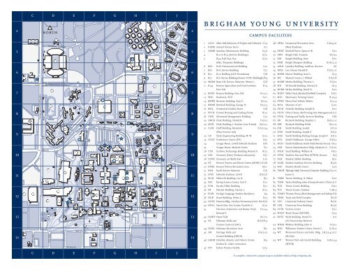 byu map of campus Byu Campus Map Monte L Bean Life Science Museum Brigham byu map of campus