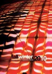 Fall/Winter 2010 - University of Toronto Press Publishing