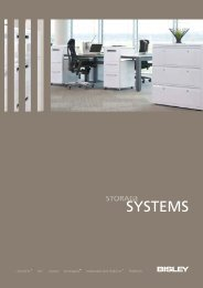 Bisley Systems Brochure.qxd:1 - Modern office furniture