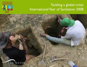 Tackling a Global Crisis (IYS) - The Water, Sanitation and Hygiene