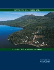 Expat Inside Pages 99 - Yukon Zinc Corporation
