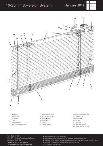 Wholesale Venetian Pages Jan 2012.qxd:Layout 1 - Amo Blinds