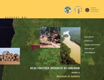 atlas forestier interactif du cameroun - World Resources Institute