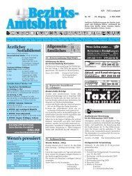 Taxivon - Bezirksamtsblatt