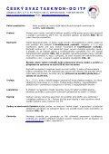 propozice - Český svaz Taekwon-Do ITF - Page 3