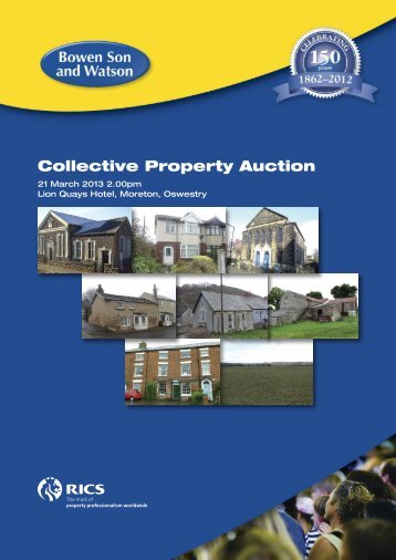 Collective Property Auction - Bowen Son and Watson