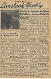 September 22, 1949 - Livestock Weekly!