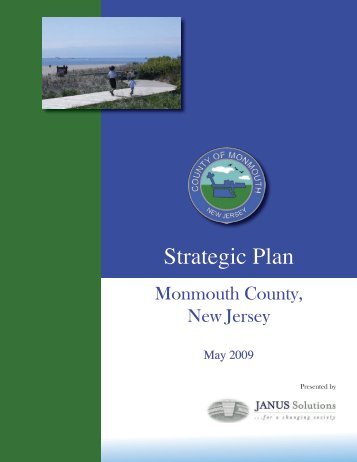 The Strategic Plan - Monmouth County
