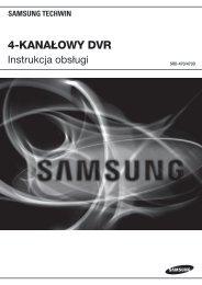 Instrukcja PL - Samsung CCTV