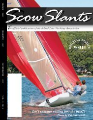 39275 Scow Summer final.pmd - Inland Lake Yachting Association