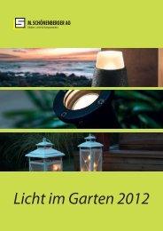 Licht im Garten 2012 - M. Schönenberger AG