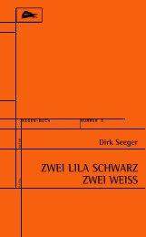ZWEI LILA SCHWARZ ZWEI WEISS - RegenBuch  Leipzig - Bücher