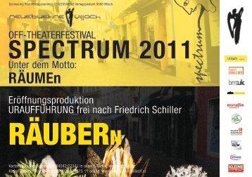 OFF-THEATERFESTIVAL SPECTRUM 2011