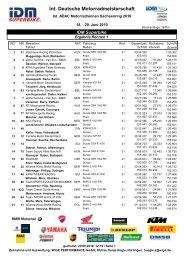 Rennen 1 SBK - Suzuki Motorsport