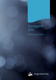 Årsrapport 2011 - Norges Kristne Råd