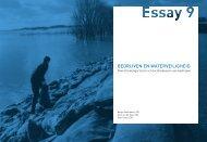Boek PROmO - ESSAY 9 Kijk op Waterveiligheid Perceptie en ...