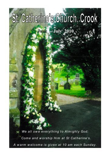 Crook Magazine 2010 06-07.pdf - The Parish of Crosthwaite and Lyth