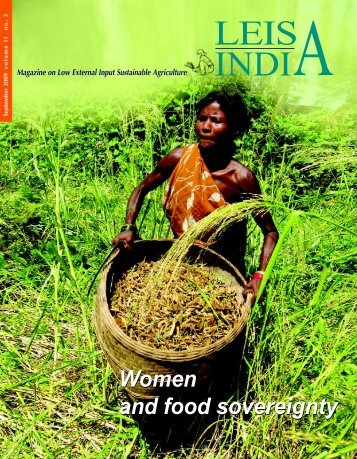 Women and food sovereignty - Leisa India