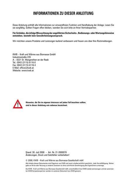Hackgut- und Pelletheizung KWB Multifire 15 - Stirling Power Module
