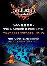 Wasser- transferDrucK