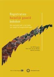 Registraties huiselijk geweld bekeken; een vooronderzoek ... - WODC