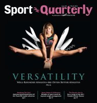 VERSATILITY - Sport Nova Scotia