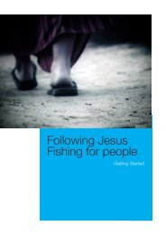 Following Fishing Getting Started - Movements that Change the World
