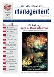 KM digital Ausgabe 03 Juni-2007 1.qxd - Fachverband der leitenden ...
