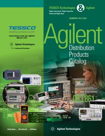Agilent Distribution Products Catalog (PDF) - Tessco