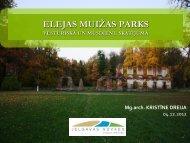 elejas muižas parks
