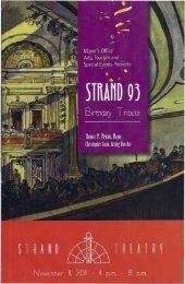 View Strand 93 Birthday Tribute Program - Upham's Corner News