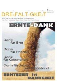Pfarrbrief September/Oktober 2013 - Pfarrei Liebfrauen Koblenz