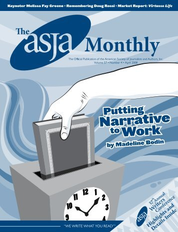 April 2008 - The ASJA Monthly