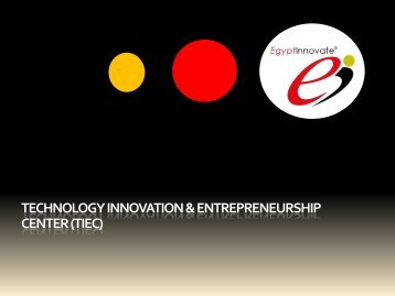 technology innovation & entrepreneurship center (tiec)