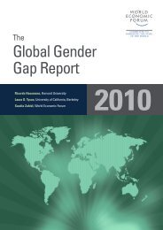 The Global Gender Gap Report 2010 - I Learn in Cambodia.org