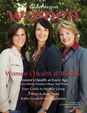 October/November - Coulee Region Women's Magazine