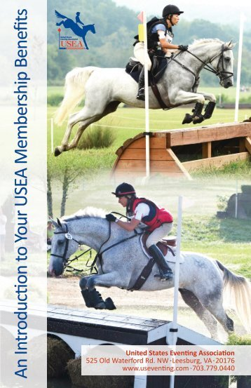 USEA Membership Booklet - United States Eventing Association
