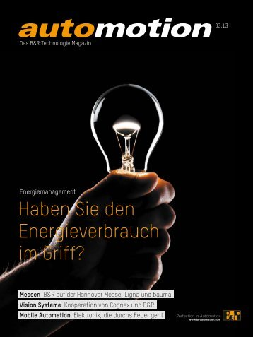Haben Sie den Energieverbrauch im Griff? - automotion.info