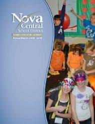 Annual Report 2009-10 - Nova Central School District