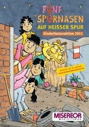 Comic, groß - Kinderfastenaktion